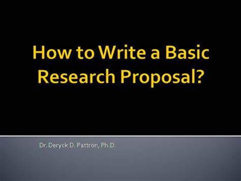 Thesis Proposal Examples Online - studentshareorg